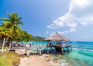Karibikstrand bei Kolumbien Rundreisen