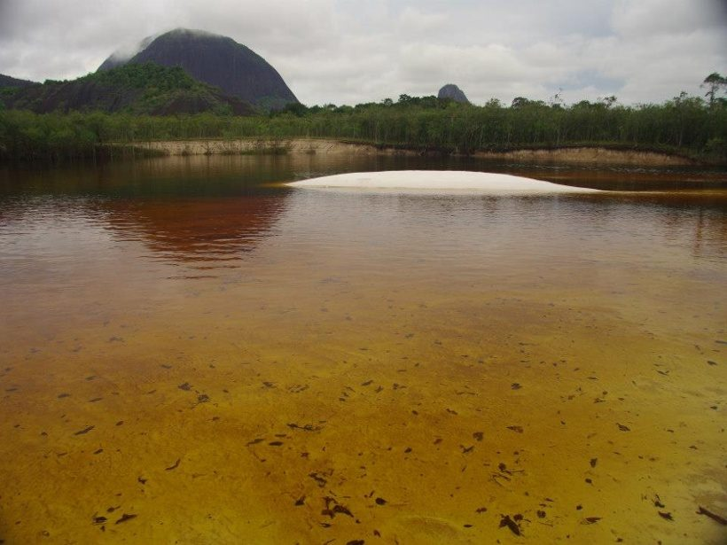 Rio Inirida kolumbien