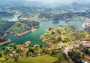 Guatape in Kolumbien - 4 Wochen Kolumbien Rundreise