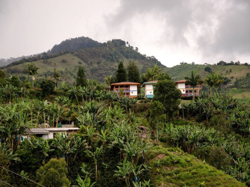 jardin in Kolumbien