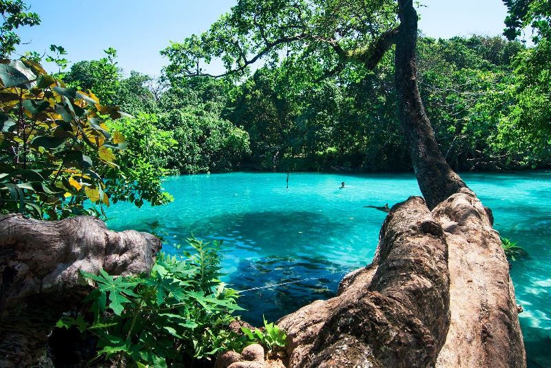 Blue Lagoon in Port Antonio