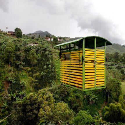 Kaffeedreieck in Kolumbien