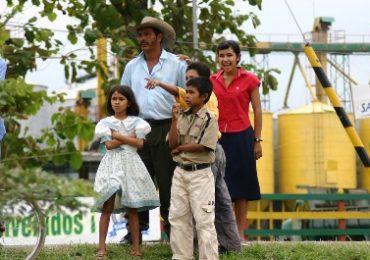 Familie in Kolumbien